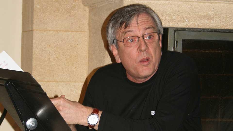 Jacques Maréchal, lecture de 3A, au Festival du Polar des Yvelines