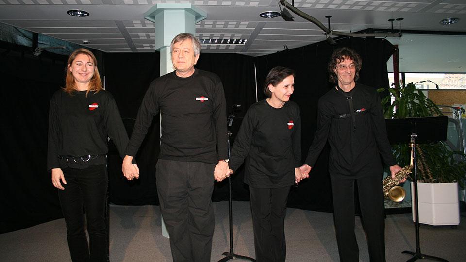 Lecture au Festival du Polar des romans de Fred Vargas et M. Oggero