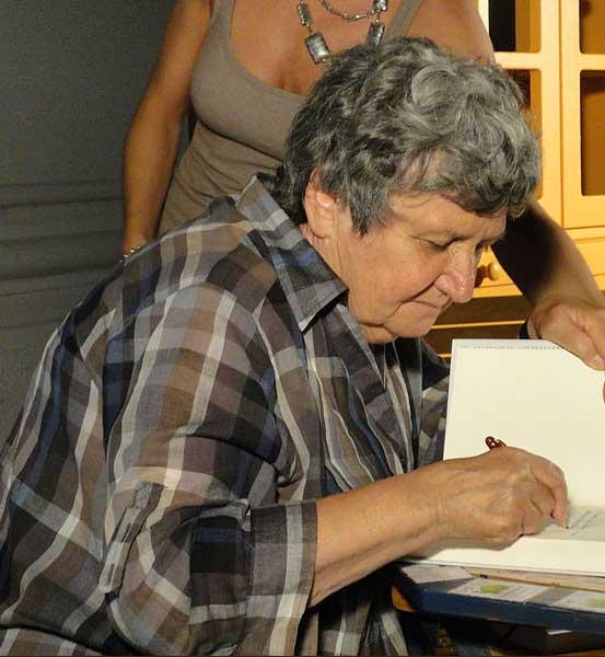 Margherita Oggero, auteur du roman policier L'Amie américaine