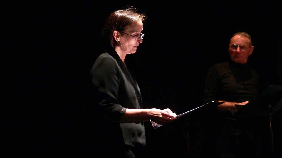 Maryse Simon, lectrice de Contes en bande - Spectacle d'Aimer à peine