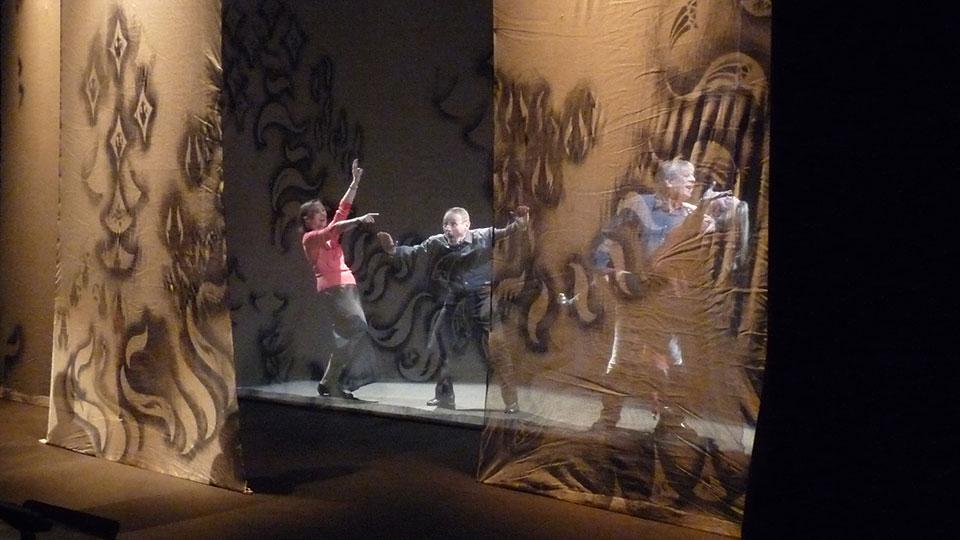 Lecture / théâtre à Elancourt dans les yvelines sur 7 nouvelles de Guy de Maupassant