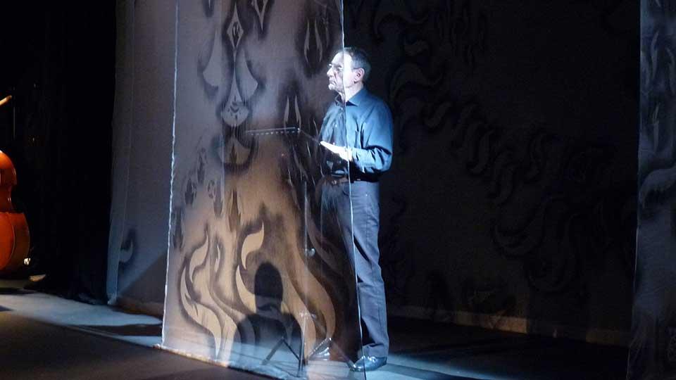 Représentation: Le Horla, nouvelle de Maupassant dans une lecture théâtralisée de Contes en Bande