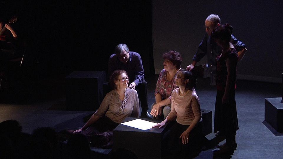 Le Cercle littéraire des amateurs d'épluchures de patates de Mary Ann Shaffer et Annie Barrows adapté en spectacle lecutre