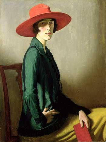 Vita Sackville-West, auteur de Toute passion abolie, peinture de William Strang