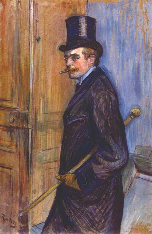 Tableau de Toulouse-Lautrec comparé à Bel Ami de Guy de Maupassant