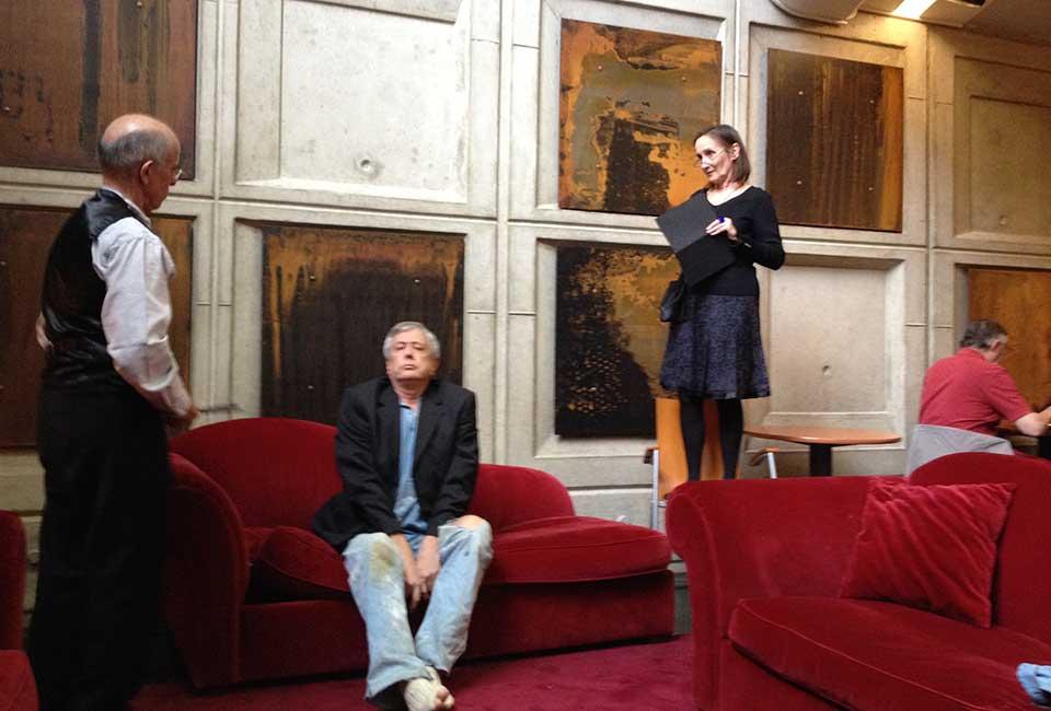 Théâtre Saint Quentin en Yvelines – Prologue de la mégère apprivoisée