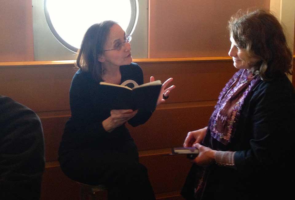 Lever de rideau : Le livre de la grammaire intérieure par la troupe