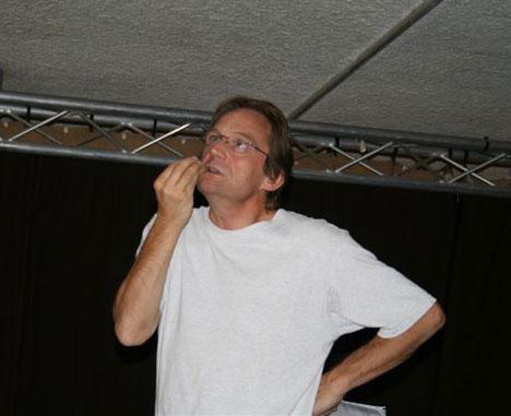 René Albold, metteur en scène de la Compagnie Engrenage Théâtre