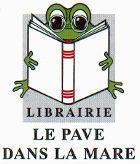 Logo du Pavé dans la Mare, librairie des 7 mares à Elancourt