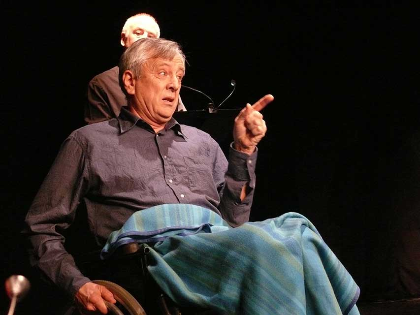 Jacques Maréchal comédien de Contes en Bande - Spectacle en Yvelines