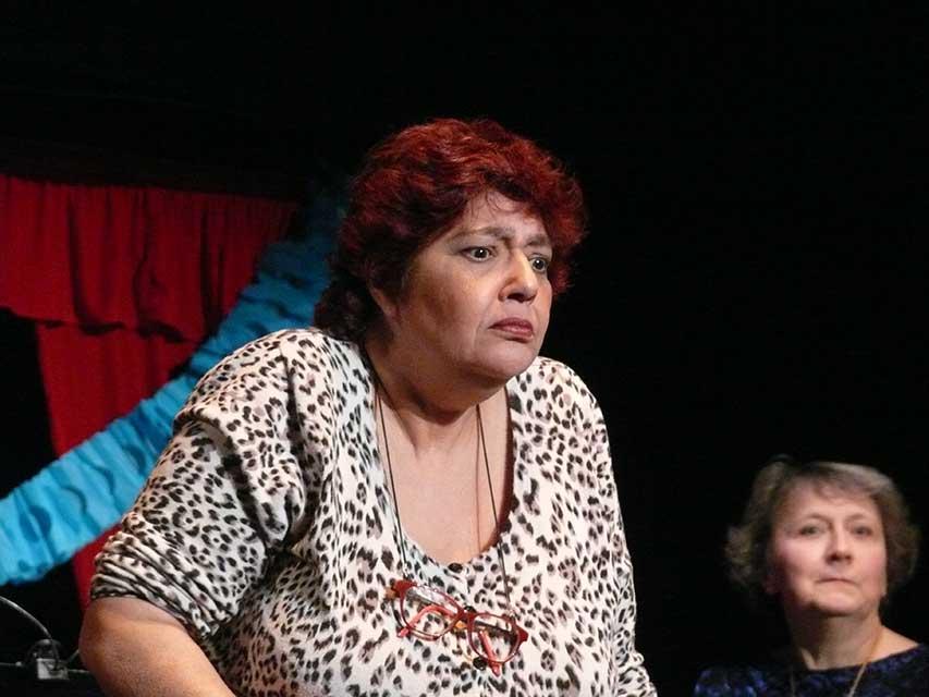 Line Beauchamps, lectrice de Contes en Bande dans Le liseur du 6h27