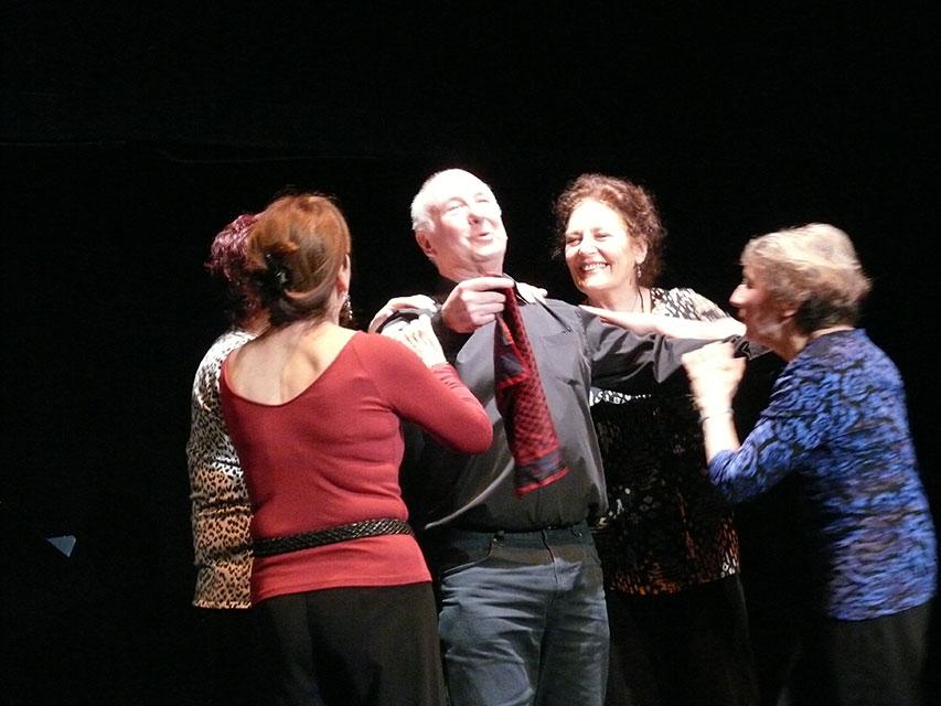 St Quentin en Yvelines spectacle de lecture théâtralisée