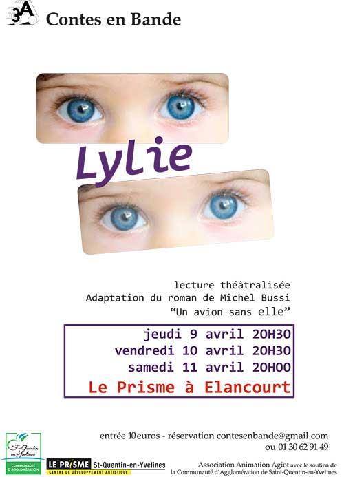 Lecture théâtralisée Lylie - adaptation du roman de Michel Bussi