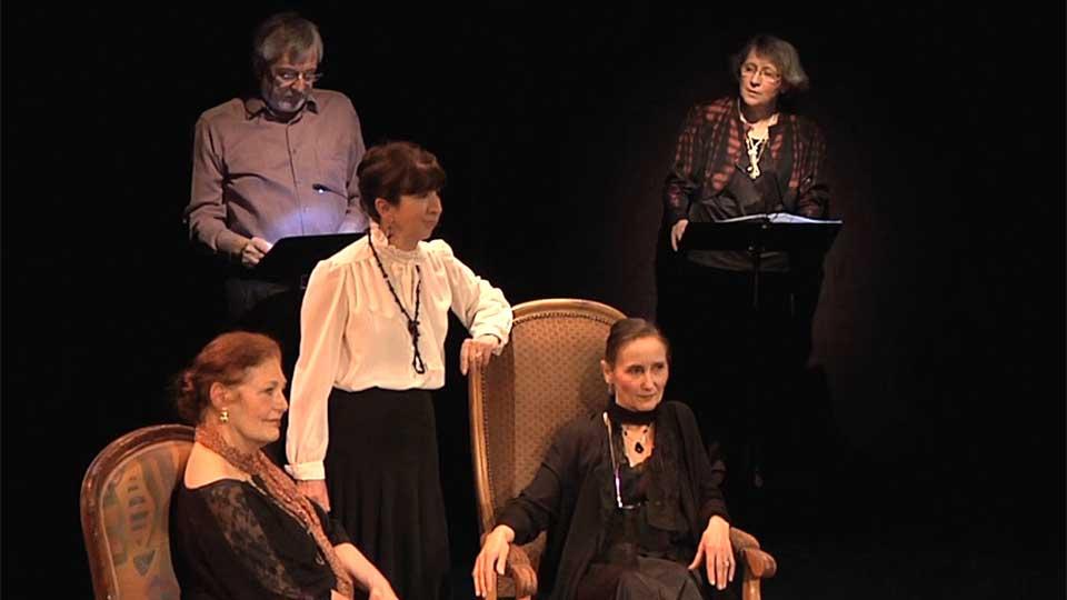 """Lecture théâtrale: Lady Salne - Adaptation de """"Toute passion abolie"""" de Vita Sackville-West"""