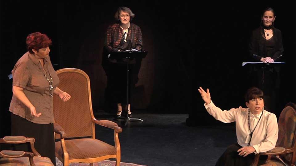 """Lecture théâtrale à élancourt, tiré du roman de Vita Sackville-West """"Toute passion abolie"""""""