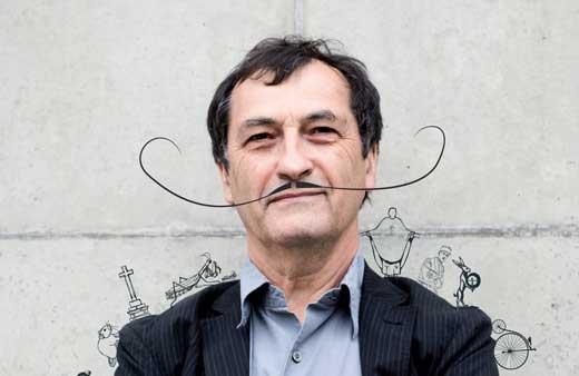 Pépito Matéo auteur et conteur de nombreuses histoires déjantées