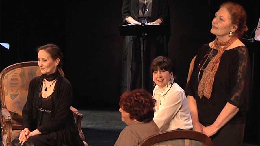 """Adaptation de """"Toute passion abolie"""" en spectacle de lecture par Contes en Bande"""