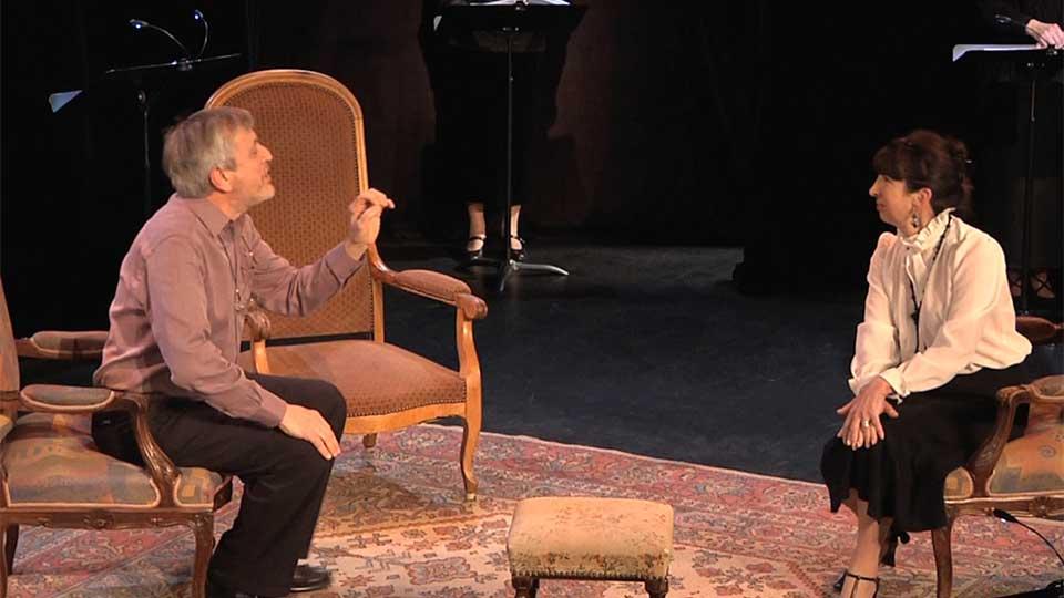 Spectacle de lecture-théâtre à élancourt/St-Quentin-en-Yvelines
