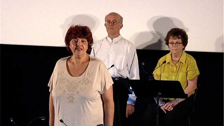 Line Beauchamps de Contes en Bande, troupe de lecture d'Élancourt