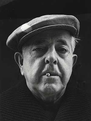Portrait de Jacques Prévert - Poète et scénariste français
