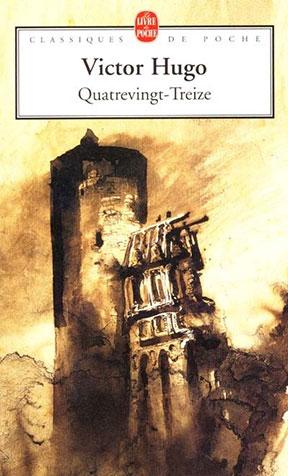 Quatrevingt-treize  Victor Hugo Edition  Le livre de poche dessin de Victor Hugo lui-même
