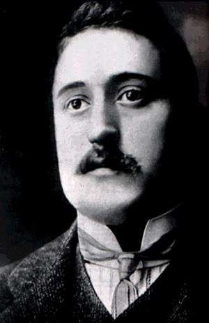 Portrait de Guillaume Apollinaire - Poète français du 20ème siècle